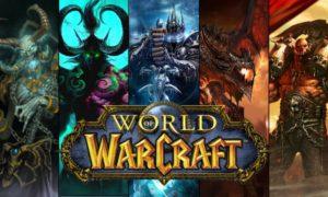 """ World of Warcraft เป็นเกม MMoRPG """