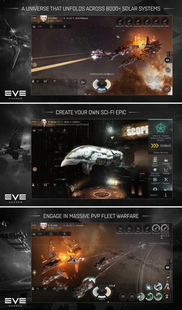 เกม Eve Echoes