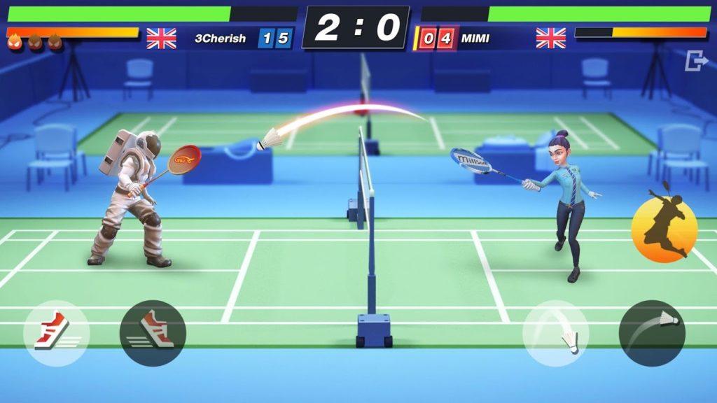 เกม Badminton Blitzระบบ Gameplay