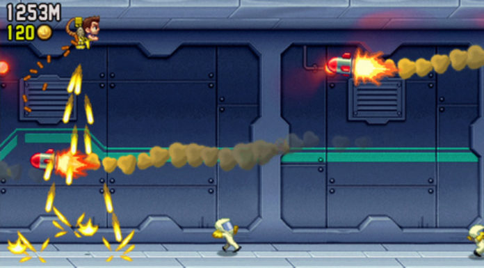 เกม Jetpack Joyride Game Mobile