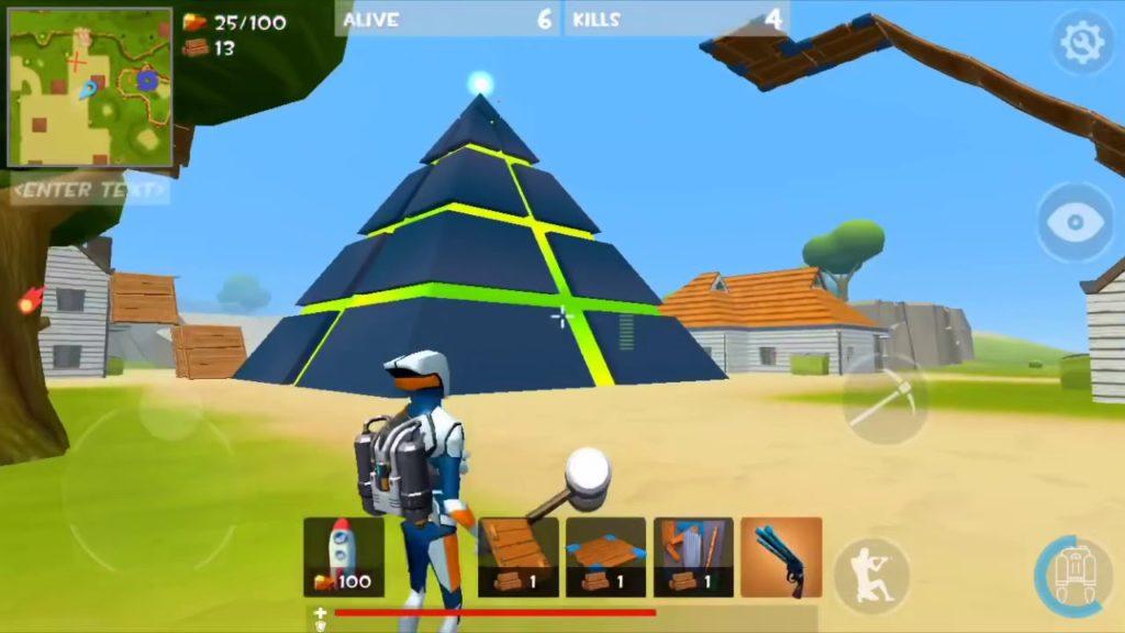 เกม Rocket Royale เป็นเกมแนว TPS
