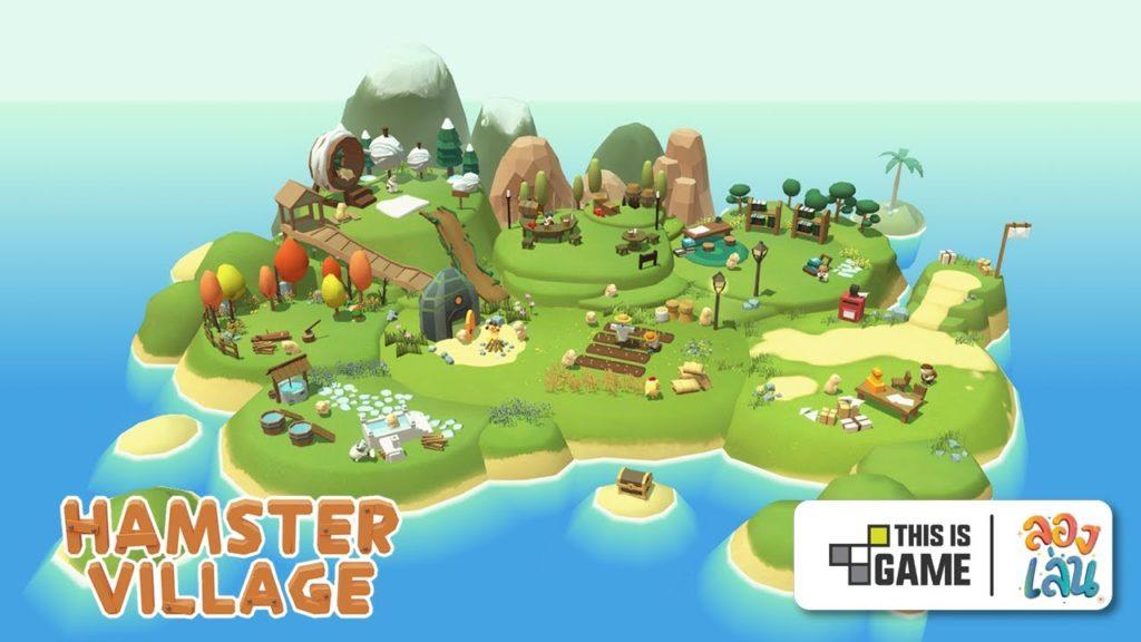 เกม HamsterVillageเป็นเกมสร้างเมือง