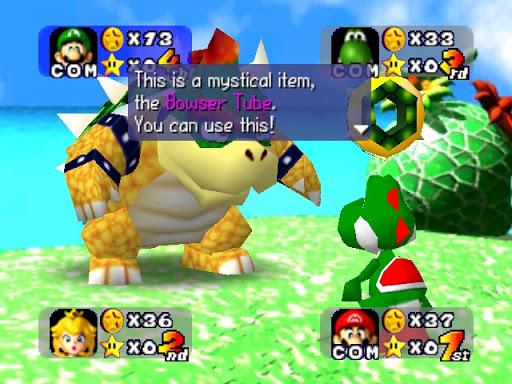 เกม Mario Party เกมสามมิติรุ่นแรก