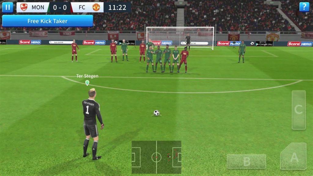 เกมมือถือแรมน้อย 1GB Dream League Soccer