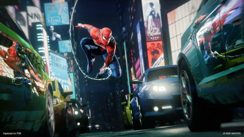ชุด Spider-Man Miles Morales -ด้วยมวกกันน็อค LED