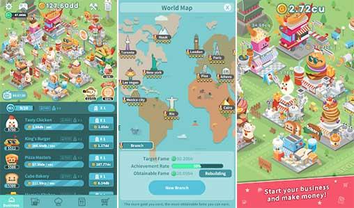 เกม Foodpia Tycoon-เป็นเกมแนว Simulator