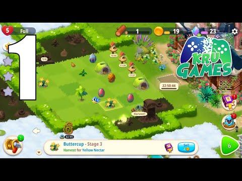 เกม Merge Gardens ตกแต่งสวน
