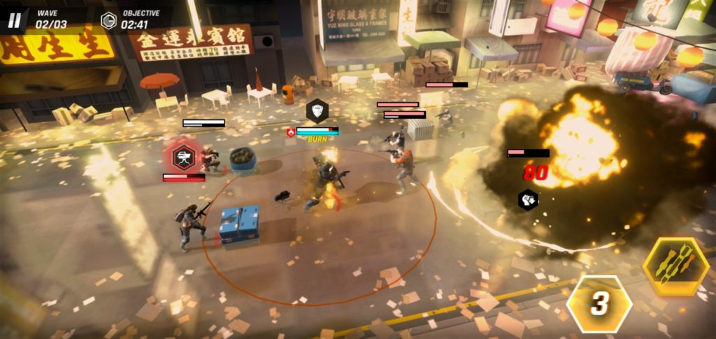 เกมTom Clancy's Elite Squad บนGame Mobile