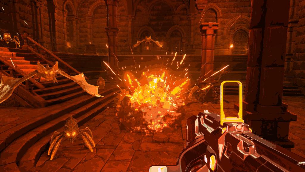 เกม Bullets Per Minute เป็นเกมแนว Rhythm Action