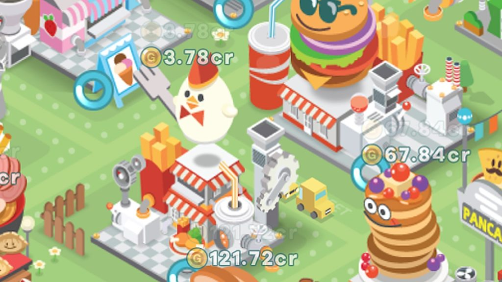 Game Mobile -เกม Foodpia Tycoon