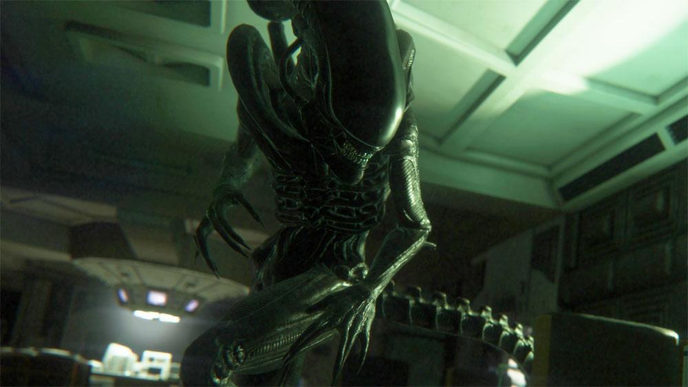 เกม Alien: Isolation-ระบบ Graphics