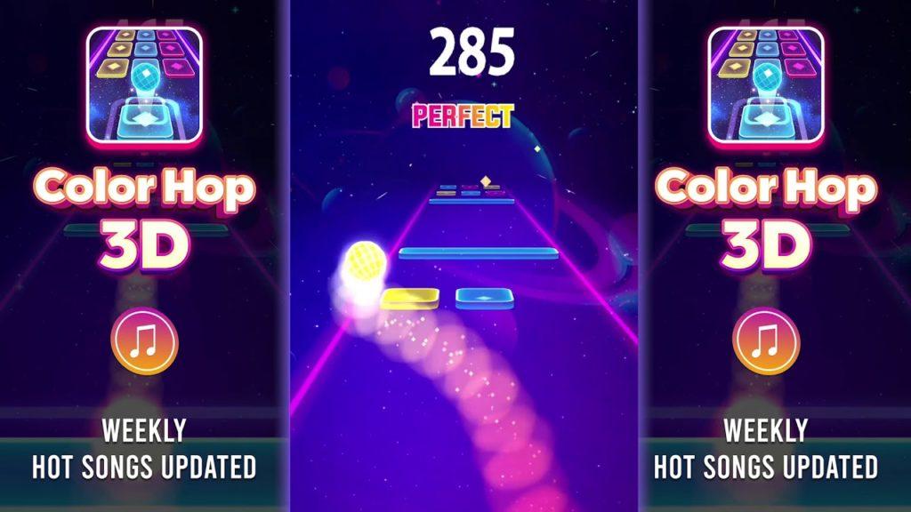 รีวิวเกมColor Hop 3D-Music Game เล่นฆ่าเวลาได้