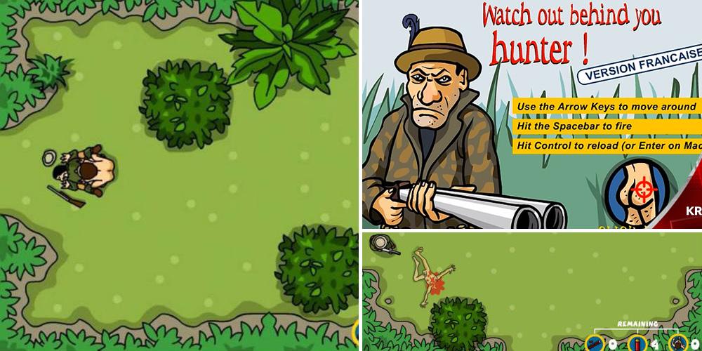 4 เกมยอดฮิต-what out behind you hunter