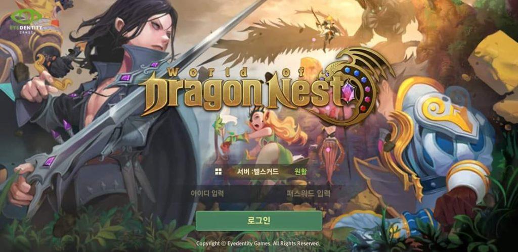 เกม Dragon Nest