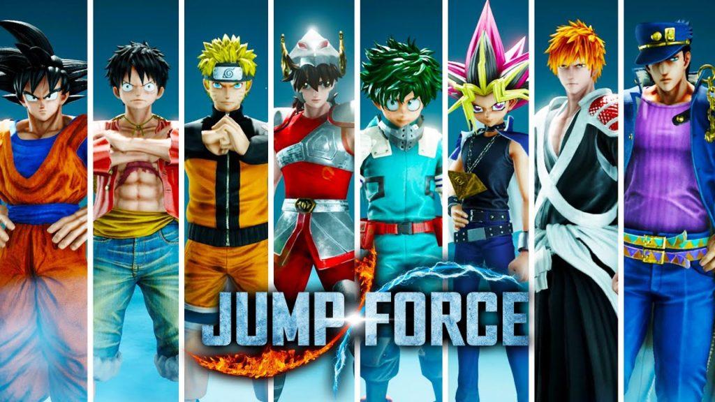 เกม Jump Force การรวมเหล่า  42 ตัวละคร2
