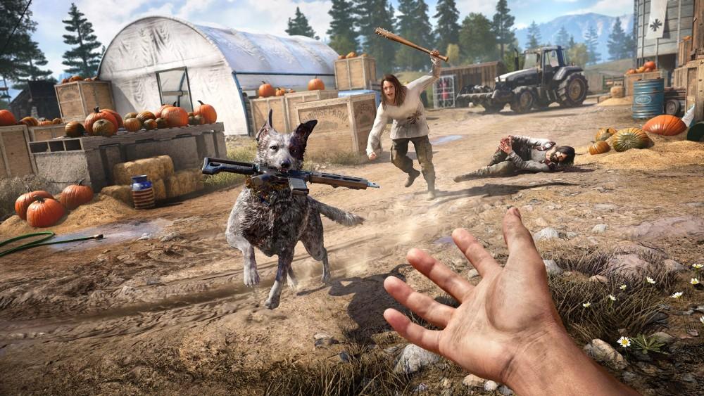 เกม Far Cry 5 ที่สามารถเลือกเพศของตัวละครได้