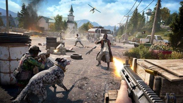 เกม Far Cry 5 เกมไล่ล่าสุดมันส์