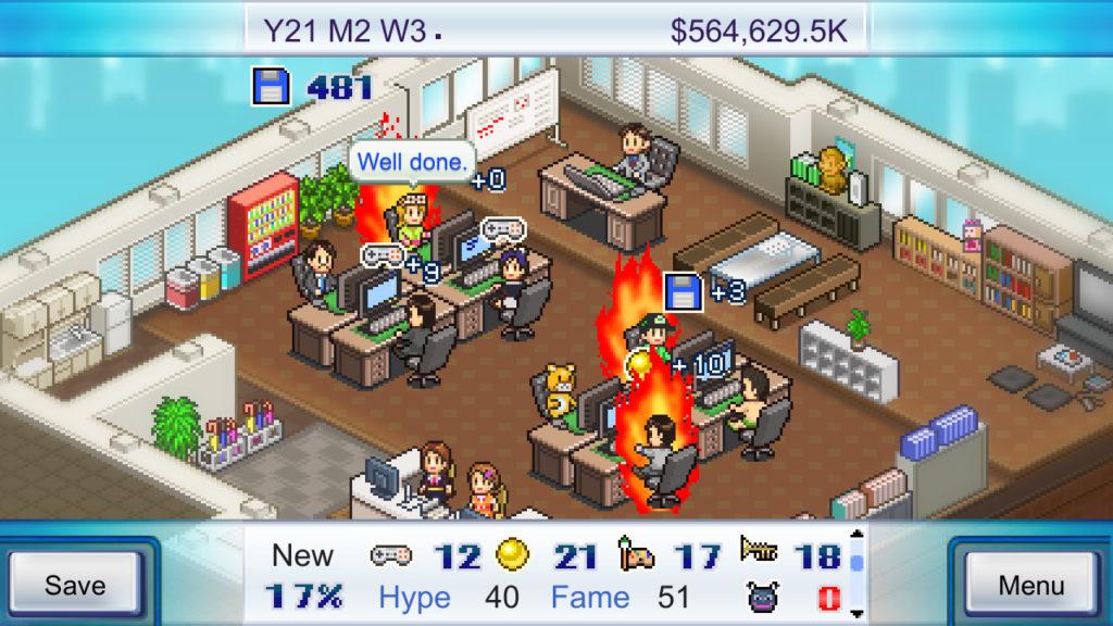 เกม Game Dev Story