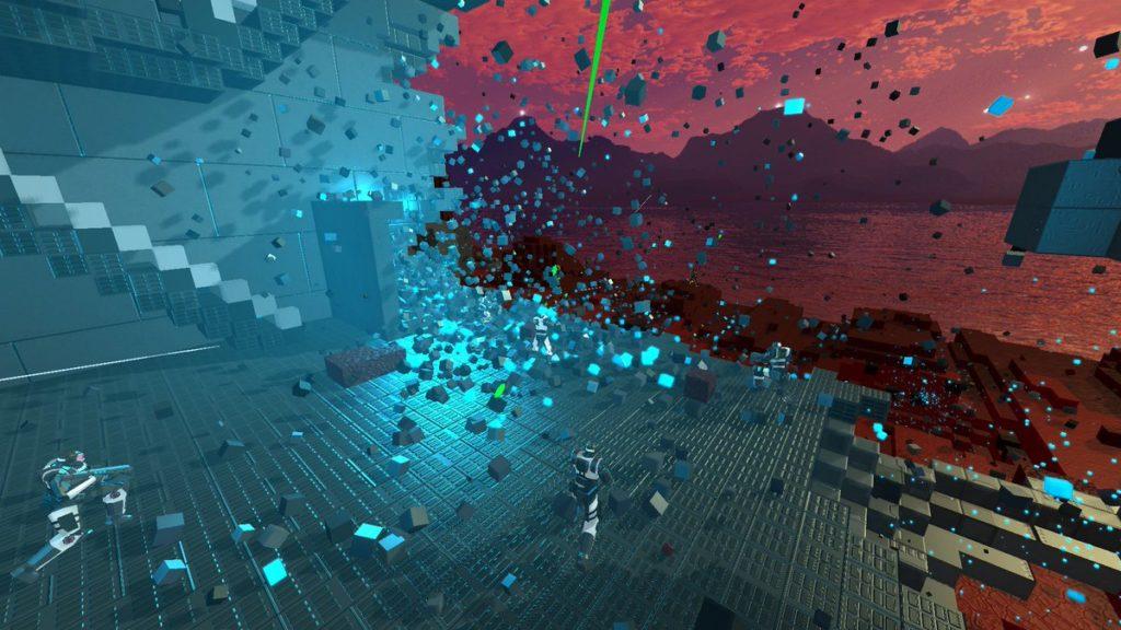 เกม Sector's Edge -เป็นแนว FPS หรือ First-person shooter