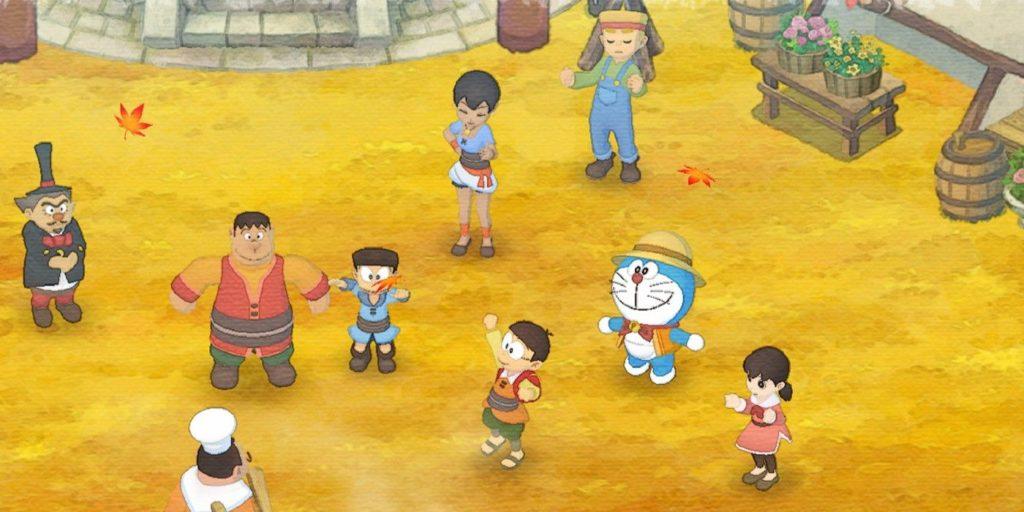เกม DORAEMON STORY OF SEASONS-โลกของเกมปลูกผัก