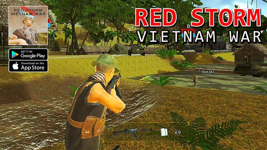 เกมมือถือแนวเอาชีวิตรอด-Red Storm: Vietnam War