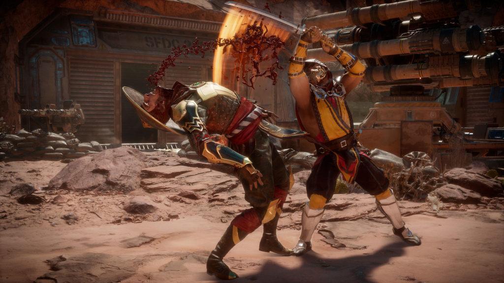 เกม Mortal Kombat 11 เกมบน PS4