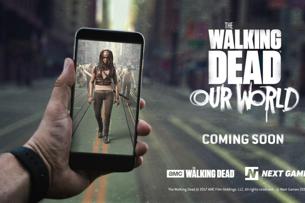 เกม AR-The Walking Dead: Our World