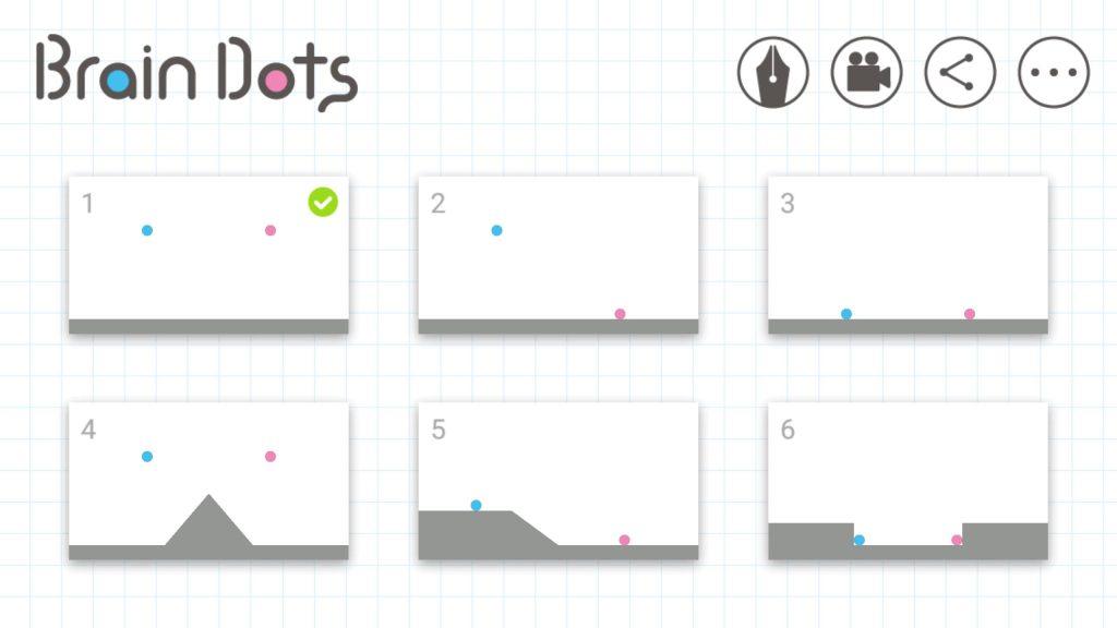 เกมมือถือ-Brain dots