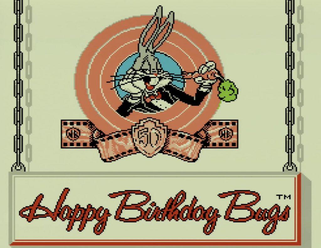 การฉลองวันเกิดของ Bugs Bunny ครบ 50 ปี