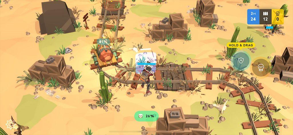 เกม Underdog -กราฟฟิกที่ช่วยให้เพลินตา