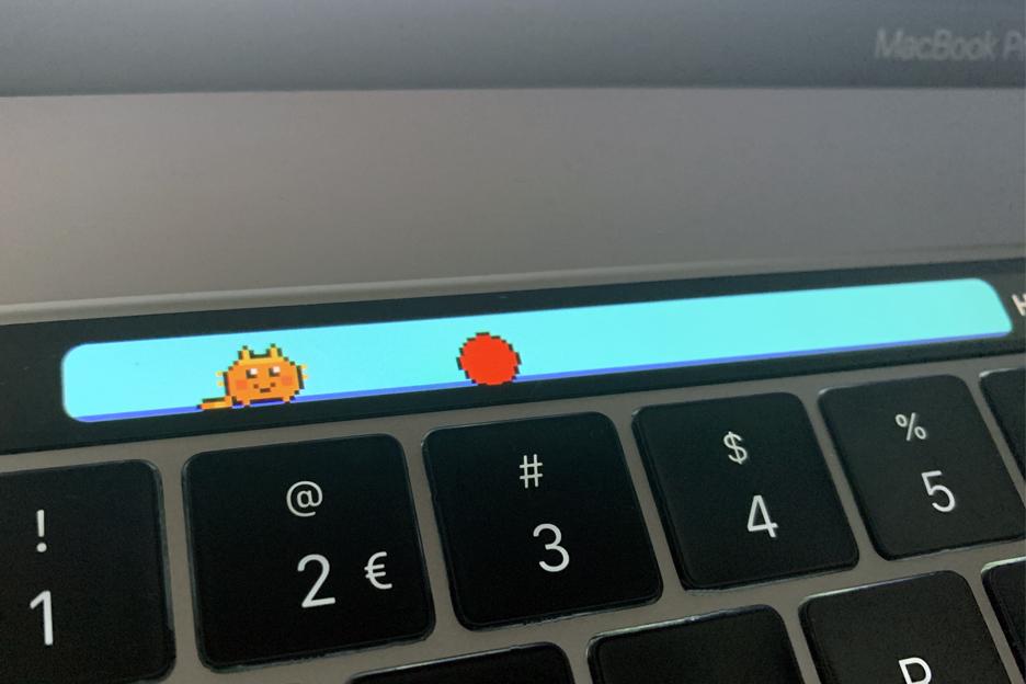 เคล็ดลับทำให้ สัตว์เลี้ยง เกม Touchbar Pet มีอารมณ์ที่ดี