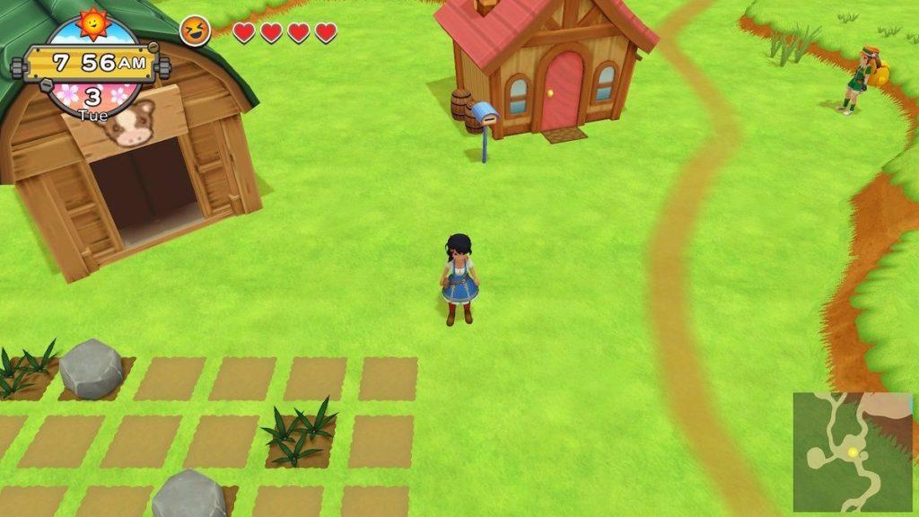 เกมปลูกผัก Harvest Moon : One World