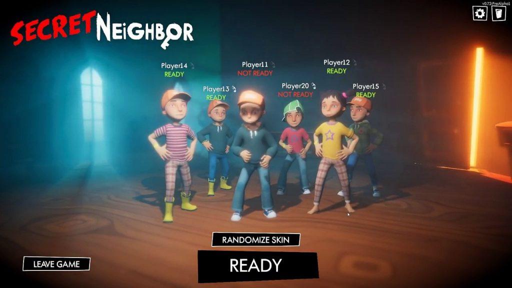 เกม Secret Neighbor  Game Pc Online