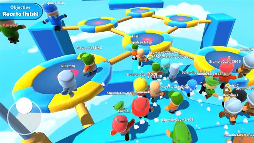 เกม  Stumble Guys: Multiplayer Royale มีรูปแบบของเกมเพลย์